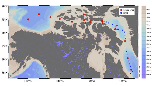GN02 GN03 Canadian Arctic Stations ll