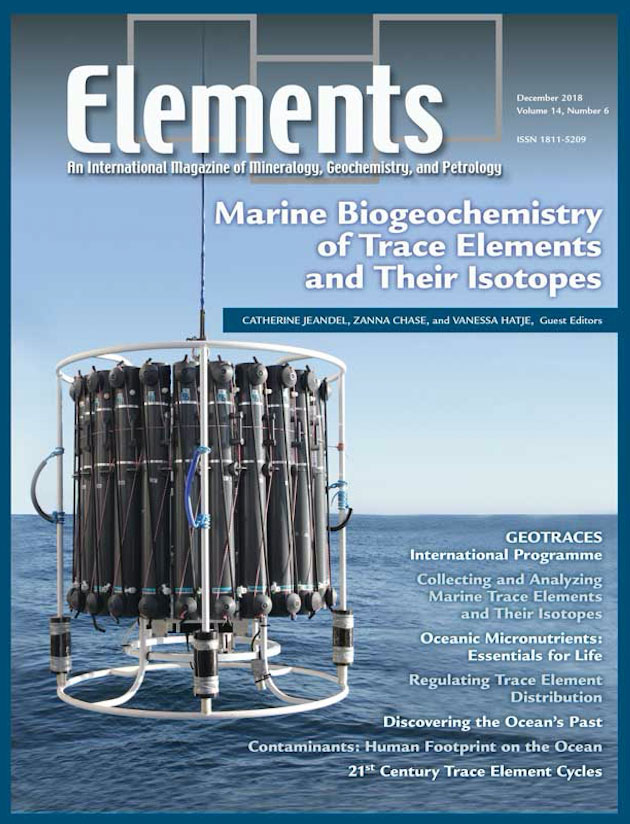 Elements GEOTRACES issue